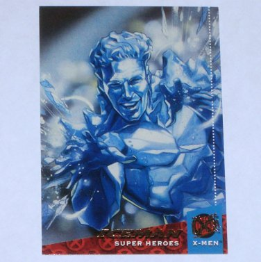 ICEMAN '94 Fleer Ultra X-Men Super Heroes Trading Card Marvel Comics #10