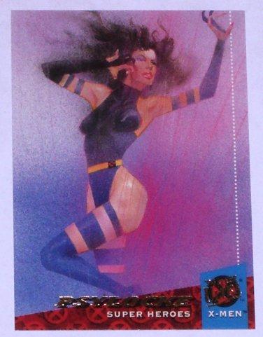PSYLOCKE '94 Fleer Ultra X-Men Super Heroes Trading Card Marvel Comics #7