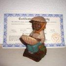 Tom Clark Gnome~Dot Com~Sculpture Art Work~Thomas F Clark w/ certificate 1998