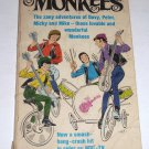 The Monkees by Gene Fawcette & Liss 1966 1st Edition PB Davey Mickey Mike Peter