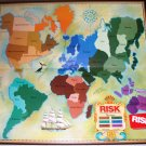 RISK World Conquest 0044 Parker Bros 1980 Roman Numeral Pcs EUC Ages 10+
