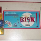 RISK Continental Board Game Parker Bros 1959 Plastic Pieces NO Box or Dice 10+
