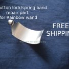 Button spring-lock/latch repair part for Rainbow vacuum cleaner wand/pipe/tube