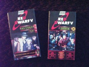 New Unopened - Red Dwarf V - Byte One & Two - Two VHS TAPES