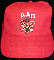 Red AAO Logo Ball Cap