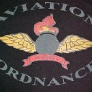 Black T-shirt - Aviation Ordnance