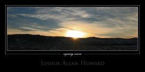Wyoming Sunrise by Joshua Allan Howard