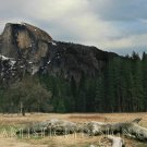 "Rugged Half Dome - 10""x 20"" Signed Print"