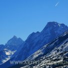 """Sky Trail Over the Rockies - 20""""x 30"""" Signed Print"""