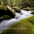 "A Swift Current in the Smokies - 20""x 30"" Signed Print"