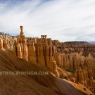 "Great Spires of Bryce Canyon - 20""x 30"" Signed Print"