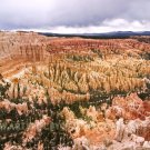"Overcast Skies Over Bryce Amphitheater - 20""x 30"" Signed Print"