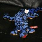 LIZZY THE BLUE LIZARD BEANIE BABY