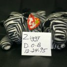 ZIGGY THE ZERBA BEANIE BABY