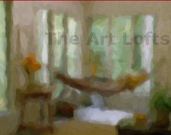 "The Garden Room - Sableux Peut-être Gloss Poster (19.2"" x 16"")"