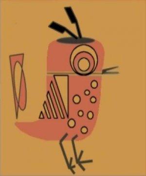 Alexander - Sabby's Birds - Original Artwork - Sableux Peut-être