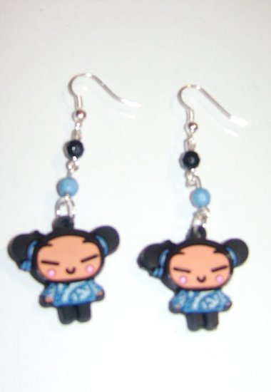 Blue Pucca Earrings