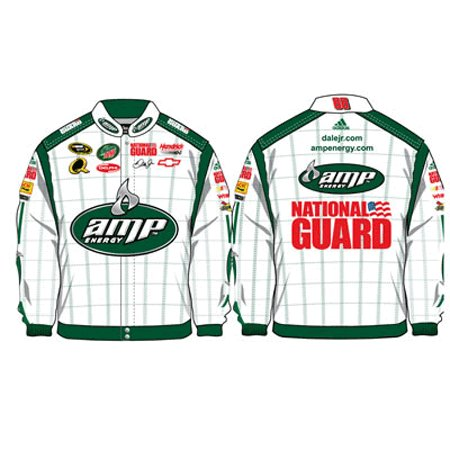 2008 Dale Earnhardt Jr. Mens AMP/Nat.Guard Twill Uniform Jacket