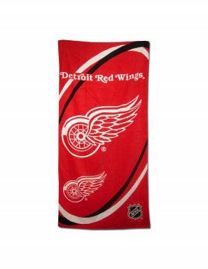Detroit Redwings Beach/Bath Towel