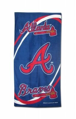 Atlanta Braves MLB Beach / Bath Towel NEW