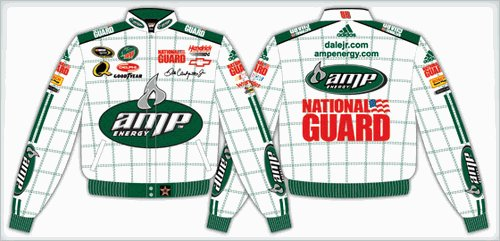2008 DALE EARNHARDT JR.  AMP KIDS COLOR TWILL JACKET