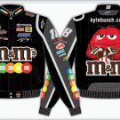 2008 KYLE BUSCH  M&M'S KIDS BLACK TWILL JACKET
