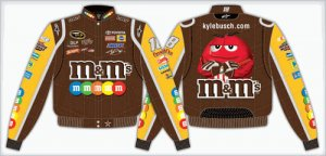 2008 KYLE BUSCH  M&M'S KIDS COLOR TWILL JACKET