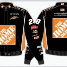 2008 TONY STEWART  HOME DEPOT KIDS BLACK TWILL JACKET