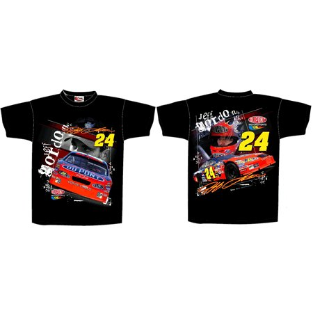 24 Jeff Gordon Black DuPont Loud and Proud Tee