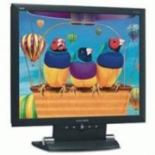 "Viewsonic 15"" 1024x768 TFT LCD-Black Monitor"