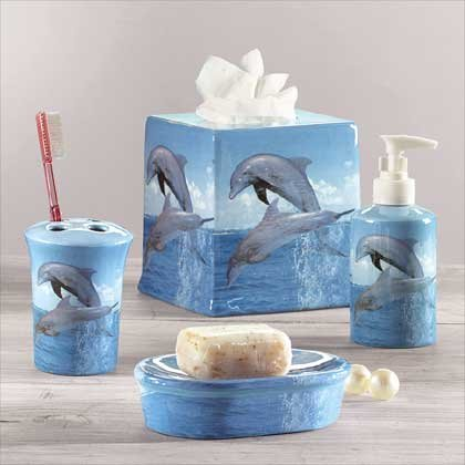 Dolphin Bath Set