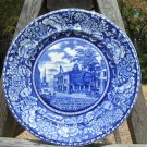 Flow Blue Staffordshire R Marsellus Fed Hall Plate 10