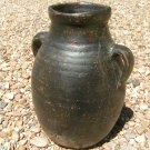 Vintage Pottery Italian Olive Jug Old Hand Thrown 1960s