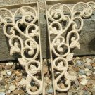 Cast Iron Wall Shelf r Corner Braces Island Corbels bisquit