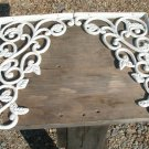 Cast Iron Wall Shelf r Corner Braces Island Corbels white ecr
