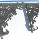 Cast Iron Wall Shelf Corner Braces Island Corbels Grey ec