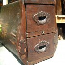 Antique Wooden Treadle Sewing Machine Drawer s 2094