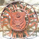 United States ARMY Sign Plasma Metal Art 22 inches 0629