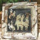 Antique Ceiling Tin Wall Tile western Art Kitchen Backsplash Cowboys cc