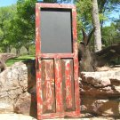 old style Rustic Chalkboard Door Message board ec