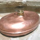 Antique Footwarmer Copper Fireplace Bed Foot Warmer MARKED
