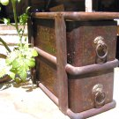 Antique Wooden Treadle Sewing Machine Drawer s 2085