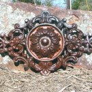 Victorian design Cast Iron Pediment 0846 ec
