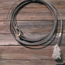 "Vintage Old ""Retired"" Cowboy Lariat Lasso Rope Western Wall Hang Decor"