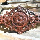 Victorian design Cast Iron Pediment Rust finish 0875 ec
