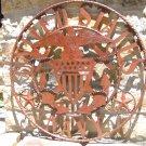 US Navy Plasma Wall Sign Metal Iron Art Large ec