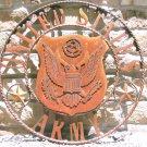 United States ARMY Military Sign Plasma Metal Art 27 x 27 inches 1457 ec