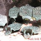 SIX Cast Iron Beer O' Clock Bottle Openers Old Style ec