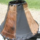 Cowhide Leather Western Lamp Shade 0658