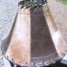 Western Leather Cowhide Lamp Shade 1280 ec